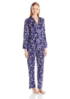 OSCAR DE LA RENTA Pink Label Women's Knit 3 Piece Pajama