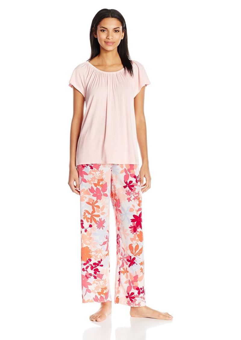OSCAR DE LA RENTA Pink Label Women's  Pajama Set M
