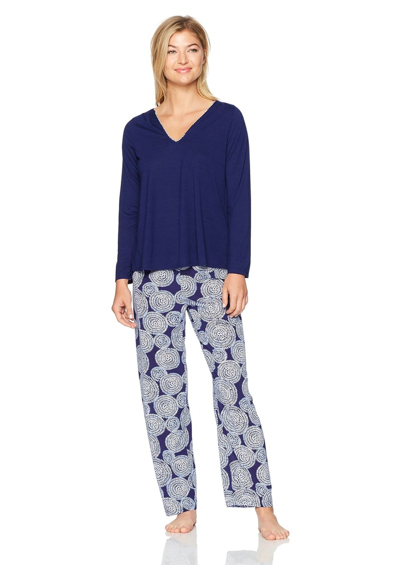 OSCAR DE LA RENTA Pink Label Women's  Pajama Set S