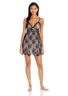 OSCAR DE LA RENTA Pink Label Women's Romantic All Over Lace Chemise  L