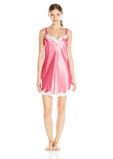 OSCAR DE LA RENTA Pink Label Women's Satin Charmeuse Chemise