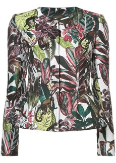 Oscar de la Renta printed jacket - Multicolour