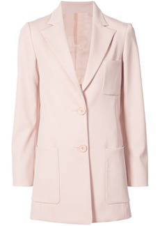 Oscar de la Renta relaxed fit blazer - Pink & Purple