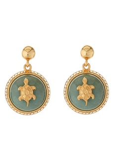 Oscar de la Renta Runway Drop Earrings
