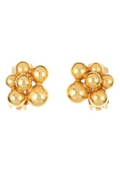 Oscar de la Renta Runway Mimosa Clip-On Earrings