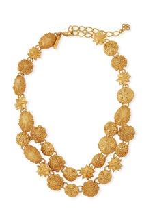 Oscar de la Renta Sea Charm Necklace