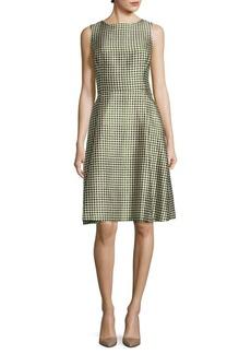Oscar de la Renta Sleek A-Line Dress