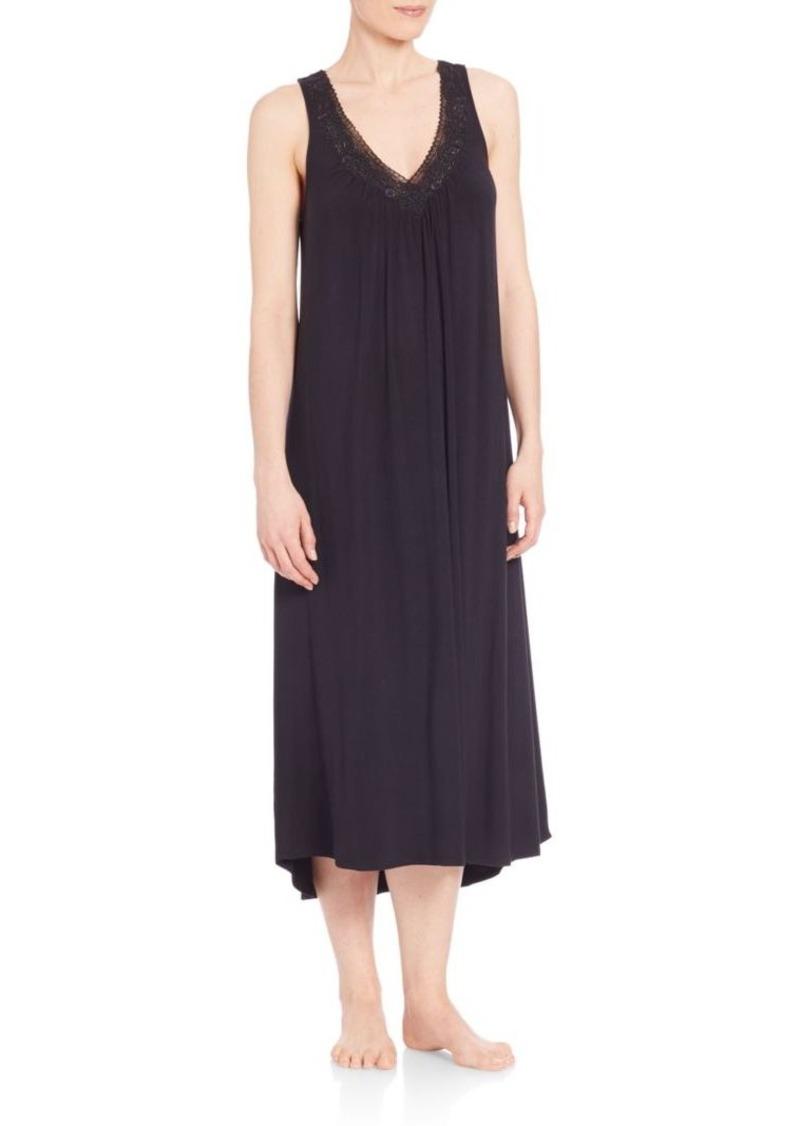 Oscar de la Renta Sleepwear Luxe Knit Gown