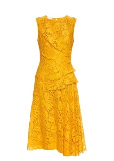Oscar De La Renta Sleeveless fruit-lace dress