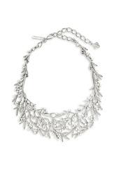 Oscar de la Renta Stone and Faux Pearl-Accented Collar Necklace