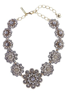 Oscar de la Renta Swarovski Crystal Collar Necklace