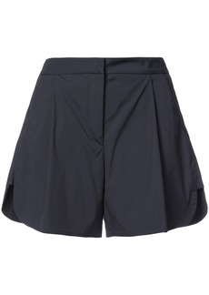 Oscar de la Renta wide leg shorts - Blue