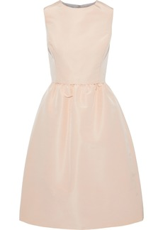 Oscar De La Renta Woman Flared Silk-faille Dress Blush