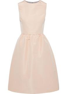 Oscar De La Renta Woman Flared Silk-faille Dress Blush