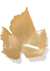 Oscar De La Renta Woman Gold-tone Brooch Gold
