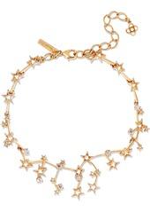 Oscar De La Renta Woman Gold-tone Crystal Necklace Gold