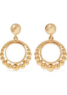 Oscar De La Renta Woman Gold-tone Earrings Gold