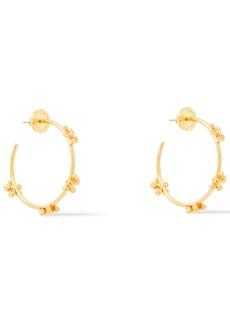 Oscar De La Renta Woman Gold-tone Hoop Earrings Gold