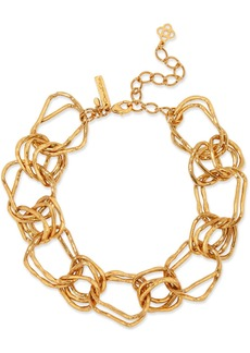Oscar De La Renta Woman Gold-tone Necklace Gold