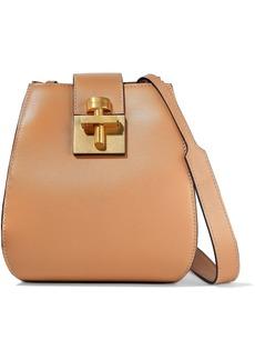 Oscar De La Renta Woman Houston Leather Bucket Bag Sand