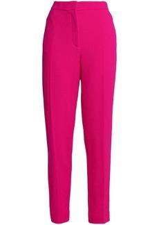 Oscar De La Renta Woman Virgin Wool Slim-leg Pants Fuchsia