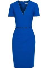 Oscar De La Renta Woman Wool-blend Cady Dress Bright Blue
