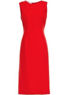 Oscar De La Renta Woman Wool-blend Cady Dress Tomato Red