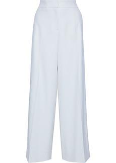 Oscar De La Renta Woman Wool-blend Twill Wide-leg Pants Ivory