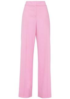 Oscar De La Renta Woman Stretch Wool-twill Wide-leg Pants Bubblegum