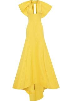 Oscar de la Renta oversize bow-detail gown