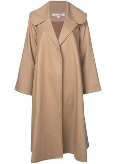 Oscar de la Renta oversized midi coat