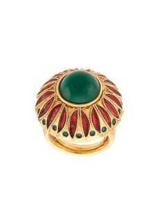 Oscar de la Renta Peacock ring