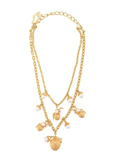 Oscar de la Renta Pinecone pearl necklace