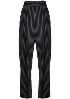 Oscar de la Renta pinstriped trousers