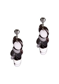 Oscar de la Renta Plexi Cascade Earrings