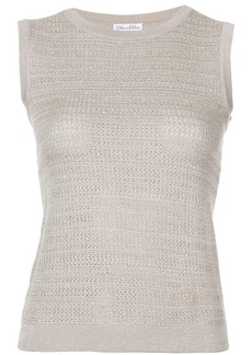 Oscar de la Renta sleeveless top