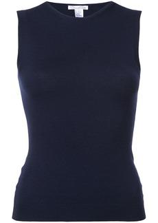 Oscar de la Renta slim-fit knitted top