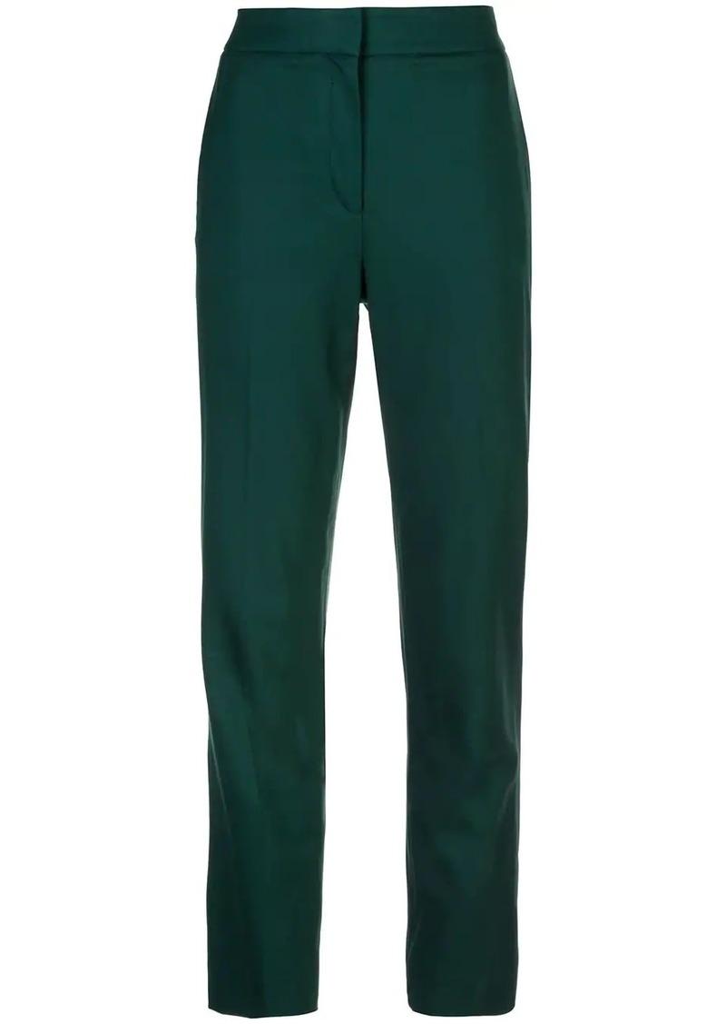 Oscar de la Renta slim-fit trousers