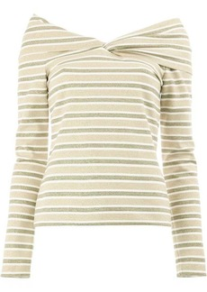 Oscar de la Renta striped top