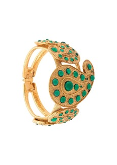 Oscar de la Renta Taj cuff bracelet