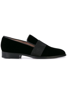 Oscar de la Renta velvet slip-on loafers