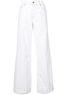 Oscar de la Renta wide-leg jeans