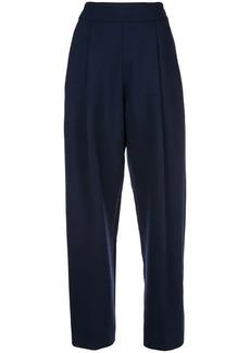 Oscar de la Renta wide leg trousers