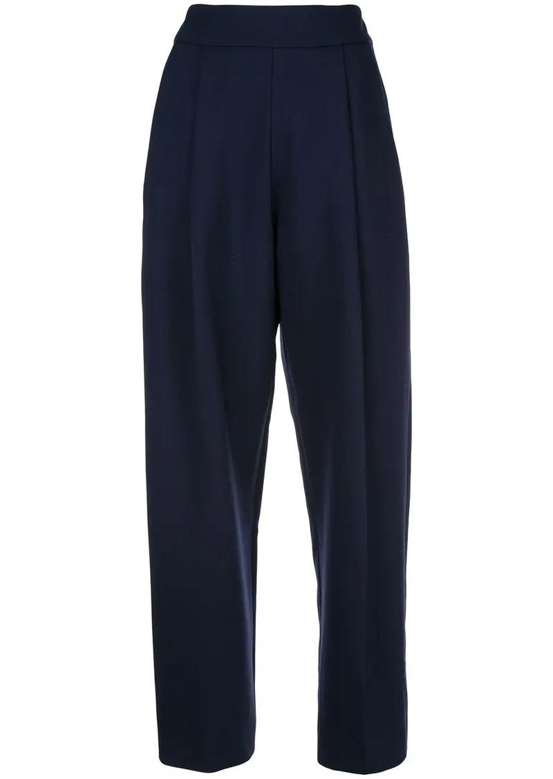 Oscar de la Renta straight leg trousers