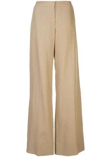 Oscar de la Renta wide-leg trousers