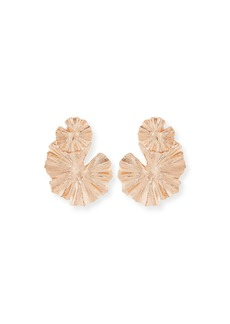 Oscar de la Renta Wildflower Statement Clip-On Earrings
