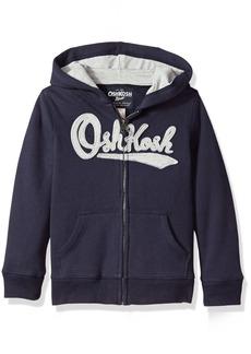 OshKosh Osh Kosh Boys' Kids Full Zip Logo Hoodie