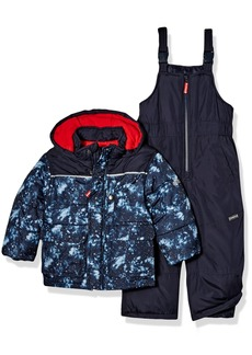 OshKosh Osh Kosh Boys' Toddler Ski Jacket and Snowbib Snowsuit Set