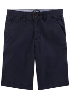 OshKosh Osh Kosh Boys' Toddler Stretch Flat Front Short