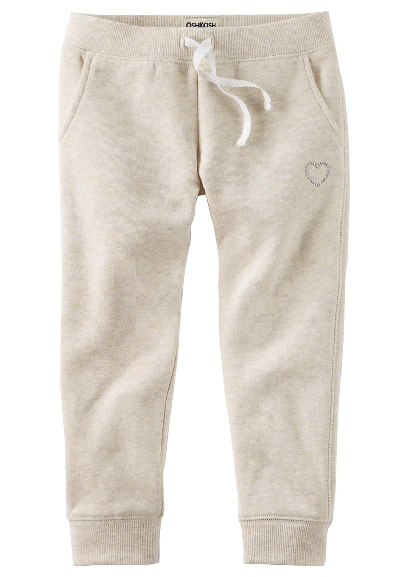 5d75537af OshKosh Osh Kosh Girls' Kids Fleece Jogger Pants | Casual Pants